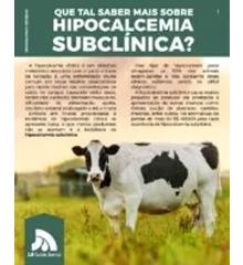 Hipocalcemia Subclínica